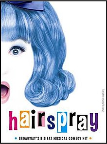 Image result for hairspray broadway logo