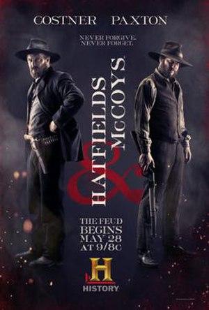 Hatfields & McCoys (miniseries) - Poster