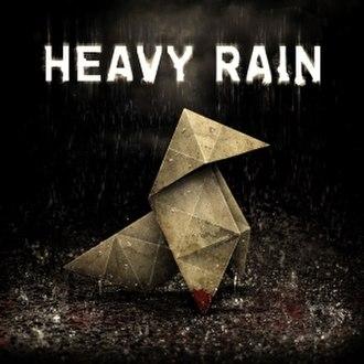 Heavy Rain - Image: Heavy Rain Cover Art