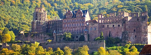 Heidelberg Castle From the Bridge
