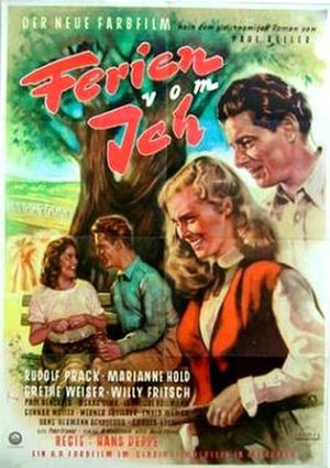 Holiday From Myself (1952 film) - Image: Holidays From Me (film)