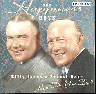 Ernie Hare - Image: How Do You Do (The Happiness Boys album cover art)