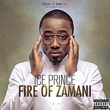Ice Prince's Fire of Zamani album cover.jpg
