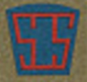 Services of Supply, American Expeditionary Forces - SOS shoulder insignia