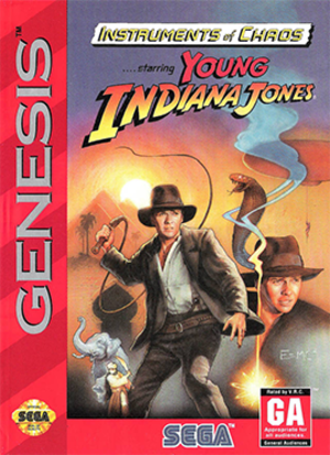 Instruments of Chaos starring Young Indiana Jones - Image: Instruments of Chaos coverart
