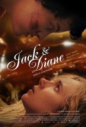 Jack & Diane (film) - Theatrical release poster