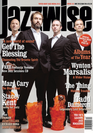 Jazzwise - Image: Jazzwise Dec Jan 2013 Cover