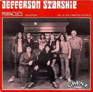 Miracles (Jefferson Starship song) - Image: Jefferson Starship Miracles single cover (Spain)
