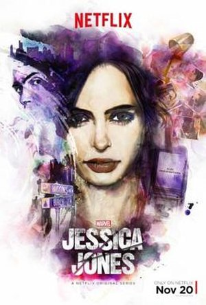 Jessica Jones (season 1) - Promotional poster