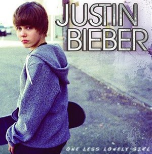 One Less Lonely Girl - Image: Justin Bieber One Less Lonely Girl (Official Single Cover)