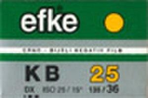 Efke - Image: KB25