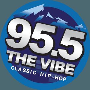 KNEV - Image: KNEV FM 95.5 The Vibe logo