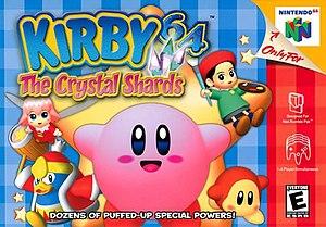 Kirby 64: The Crystal Shards - Image: Kirby 64 box