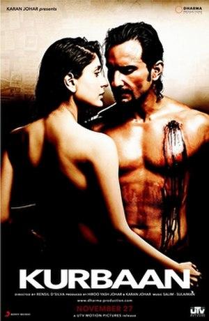 Kurbaan (2009 film) - Theatrical release poster