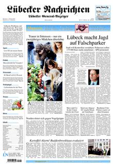 Kreuzworträtsel Lübecker Nachrichten