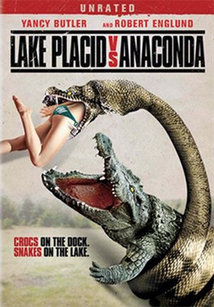 Lake Placid vs. Anaconda - DVD cover
