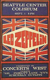 Led Zeppelin North American Tour Summer 1970