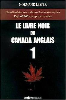 Le Livre Noir Du Canada Anglais Wikipedia
