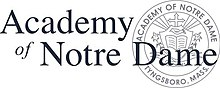 Logo of the Academy of Notre Dame.jpg