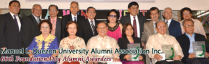 Manuel L. Quezon University - Alumni Awardees