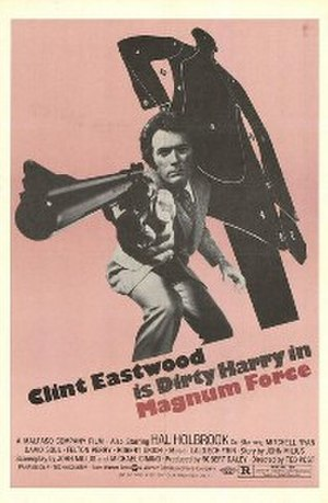 Magnum Force - Theatrical film poster by Bill Gold