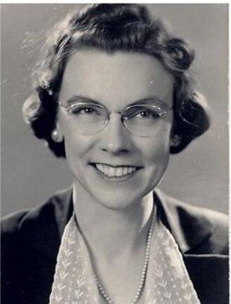 Mary Wharton - Mary Wharton in 1949.