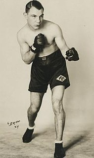 Maurice Holtzer French featherweight boxer