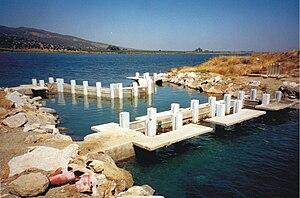 Missolonghi–Aitoliko Lagoons - Image: Mesolonghi 3