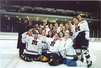Michigan Wolverines women's ice hockey - The 1999–2000 CCWHA champion Wolverines