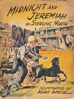<i>Midnight and Jeremiah</i> book by Sterling North