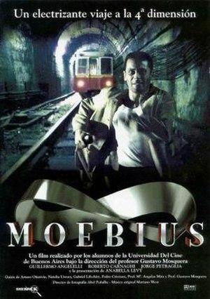 Moebius (1996 film) - Image: Moebius film poster