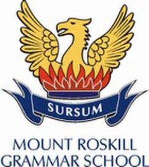 Mount Roskill Grammar School - Image: Mount Roskill Grammar School logo