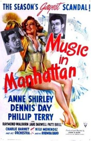 Music in Manhattan - Image: Music in Manhattan Film Poster