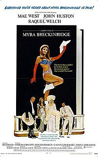 <i>Myra Breckinridge</i> (film) 1970 film by Mike Sarne