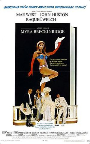 Myra Breckinridge (film) - Theatrical release poster