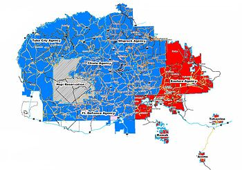 684bf991255 Presidential election results map. Red denotes Agencies won by  Lovejoy Phelps