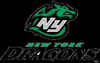 New York Dragons - Image: New York Dragons logo