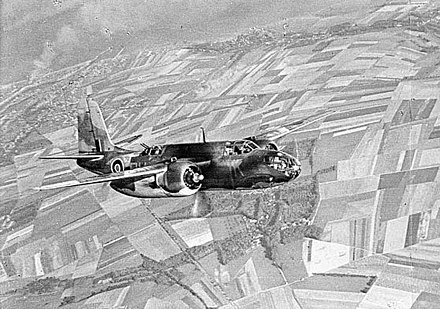 RAF Boston III from No. 88 Squadron RAF over Dieppe, 1942 - Douglas A-20 Havoc