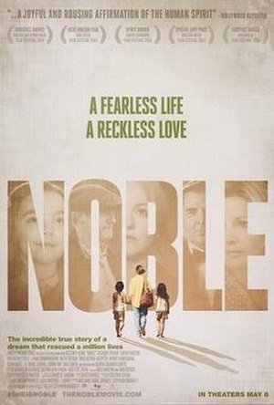 Noble (film) - Promotional poster
