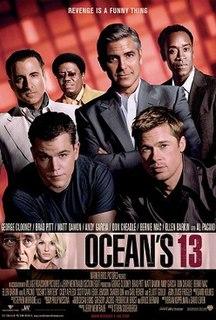 <i>Oceans Thirteen</i> 2007 film by Steven Soderbergh