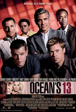 Ocean's Thirteen - Theatrical release poster