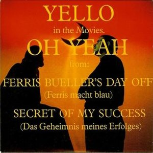 Oh Yeah (Yello song) - Image: Oh yeah single cover