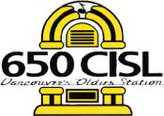 CISL (AM) - Image: Oldies 650 CISL
