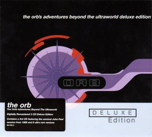The Orb's Adventures Beyond the Ultraworld - Cover of a 2006 reissued 3-CD deluxe edition