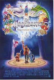 <i>The Pagemaster</i> 1994 animated film by Joe Johnston