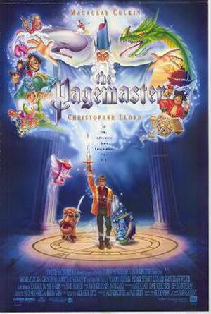The Pagemaster - Theatrical release poster