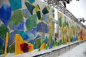 Chase Promenade - Image: Paintings below zero'