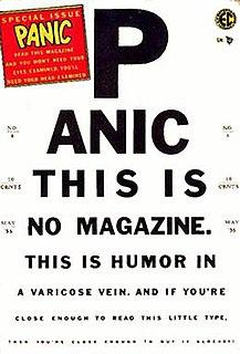 <i>Panic</i> (comics) part of the EC Comics line during the mid-1950s