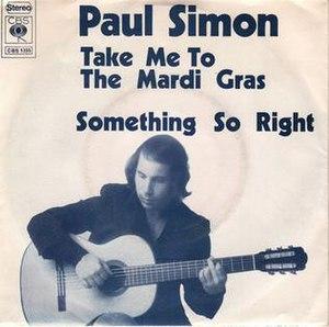 Take Me to the Mardi Gras - Image: Paul simon take me to the mardi gras single