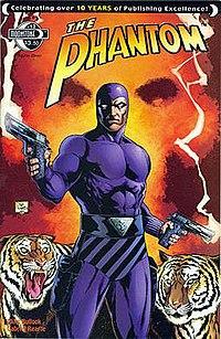 Cover to Moonstone Books' The Phantom #12 by Joe Prado.